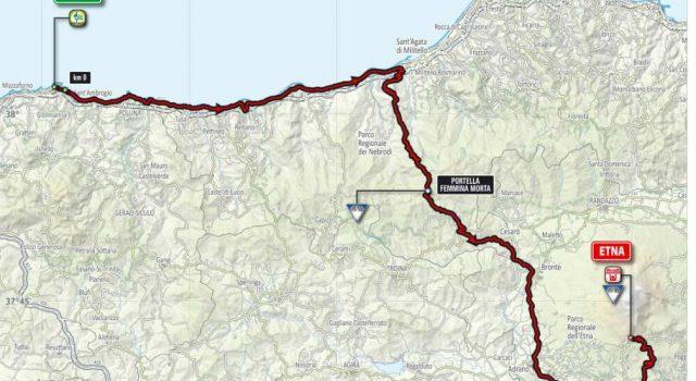 Il Giro d'Italia torna, dopo 6 anni, in Sicilia LE MAPPE – I COMUNI INTERESSATI