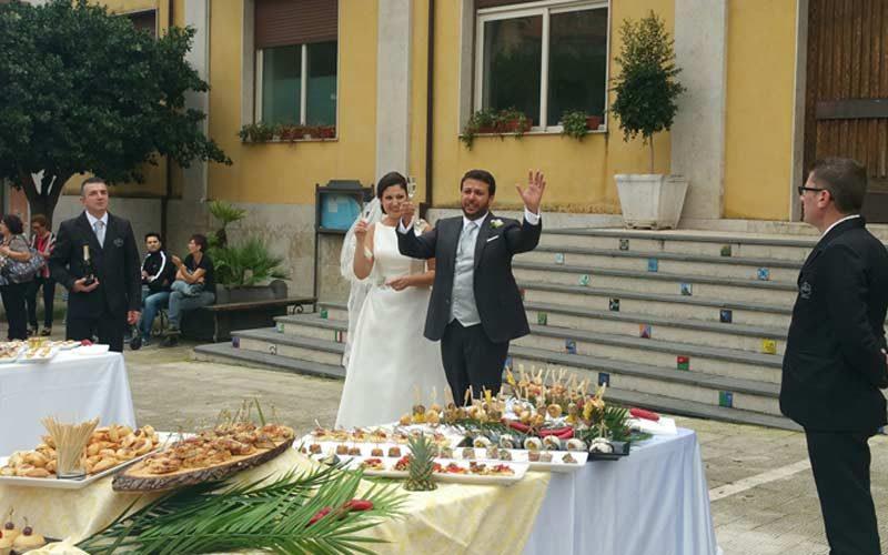 Matrimonio In Greco : Santa venerina comunità in festa per le nozze del sindaco
