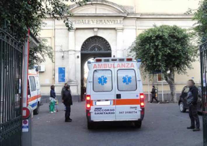 """Catania, guardia giurata picchiata al """"Vittorio Emanuele"""": denunciato 47enne"""