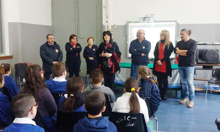 Mascali: l'Unitalsi a scuola per sensibilizzare gli alunni alla solidarietà