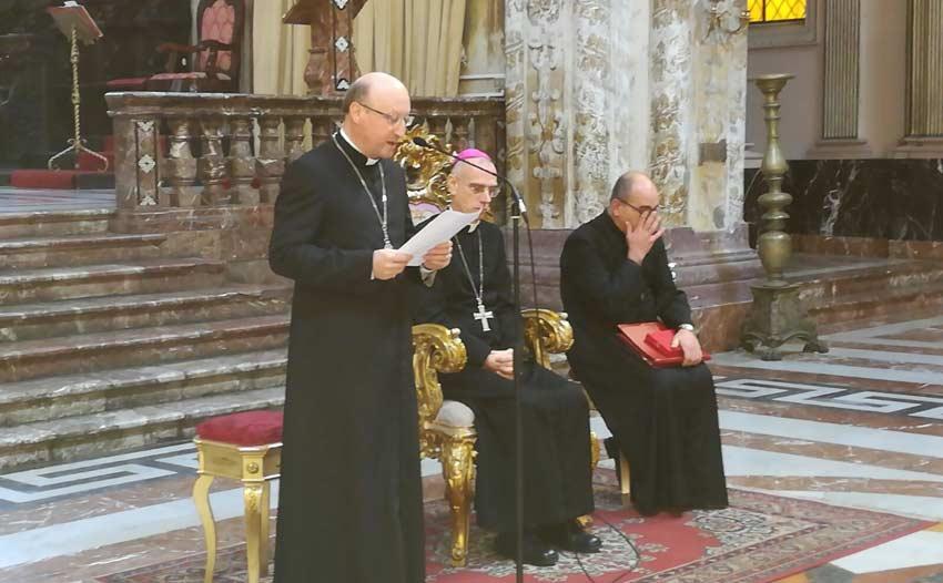 Oggi a Tindari Mons. Guglielmo Giombanco sarà ordinato Vescovo di Patti